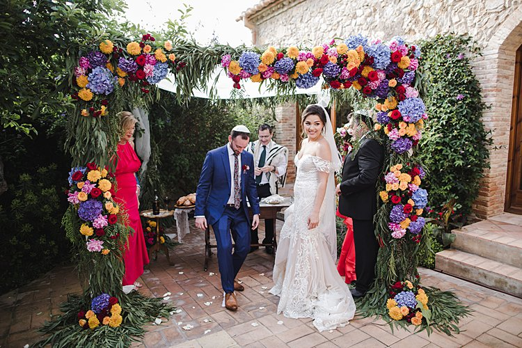 Jewish Wedding Casa Felix Barcelona Spain