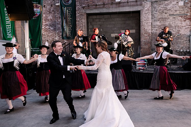 Jewish Wedding Greenpoint Loft Brooklyn NY USA