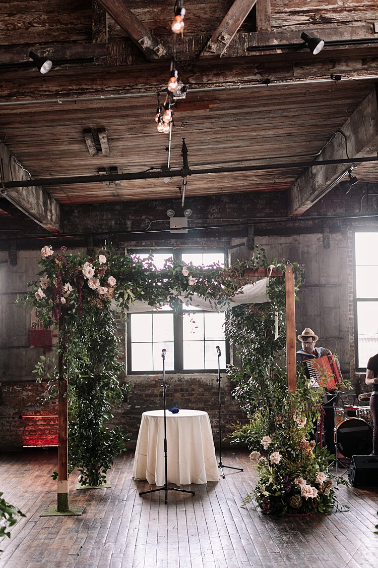 Jewish Wedding Greenpoint Loft Brooklyn NY USA_0066