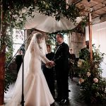 A Monique Lhuillier Bride for a Tradition-Meets-Brooklyn-Style Jewish Wedding at Greenpoint Loft, Brooklyn, New York, USA