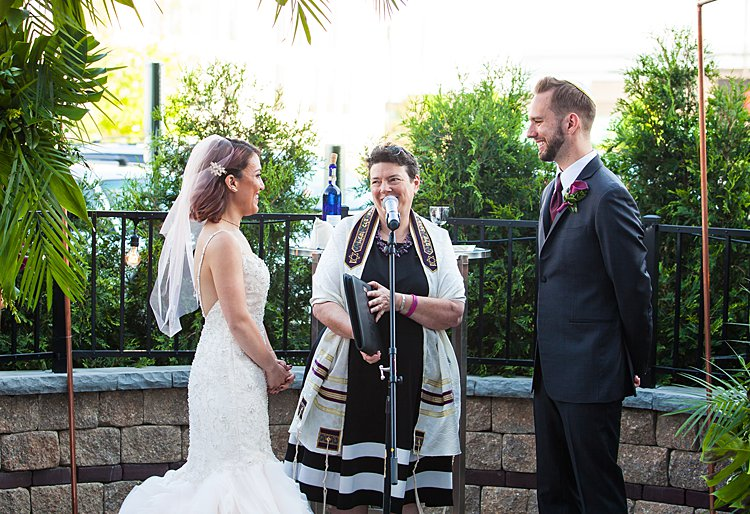 Jewish Wedding Le Meridien Chicago USA
