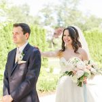 A Stella York Bride for a Romantic Outdoor Summer Jewish Wedding at The Waterview in Monroe, Connecticut, USA