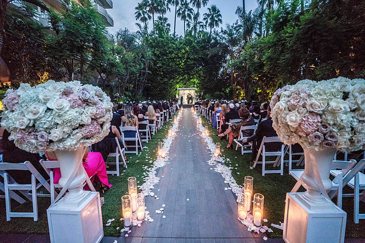 Jewish Wedding at Four Seasons Los Angeles CA USA_0028