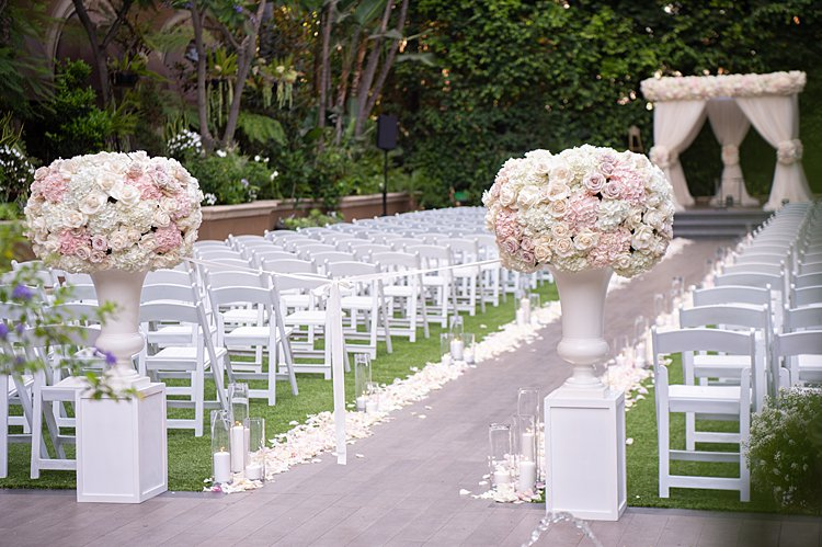 Jewish Wedding at Four Seasons Los Angeles CA USA_0011