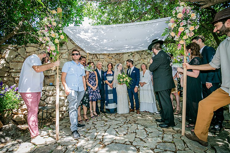 Jewish Wedding at parents' house in the north of Israel_0038