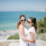 An Intimate, Emotional Same Sex Jewish Wedding by the Sea at Beit Andromeda in Jaffa, Israel