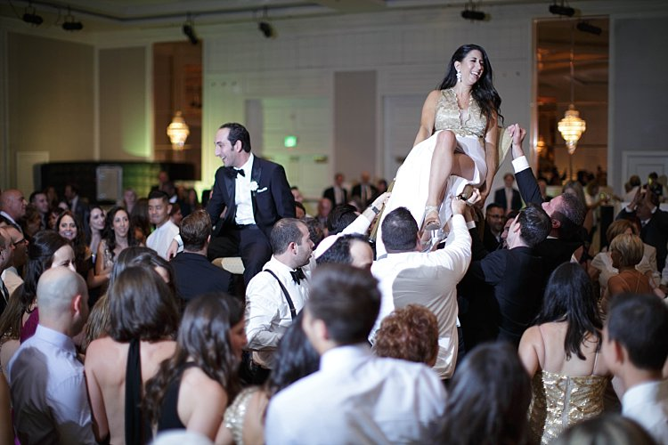 Jewish wedding Universal Sheraton Los Angeles CA USA