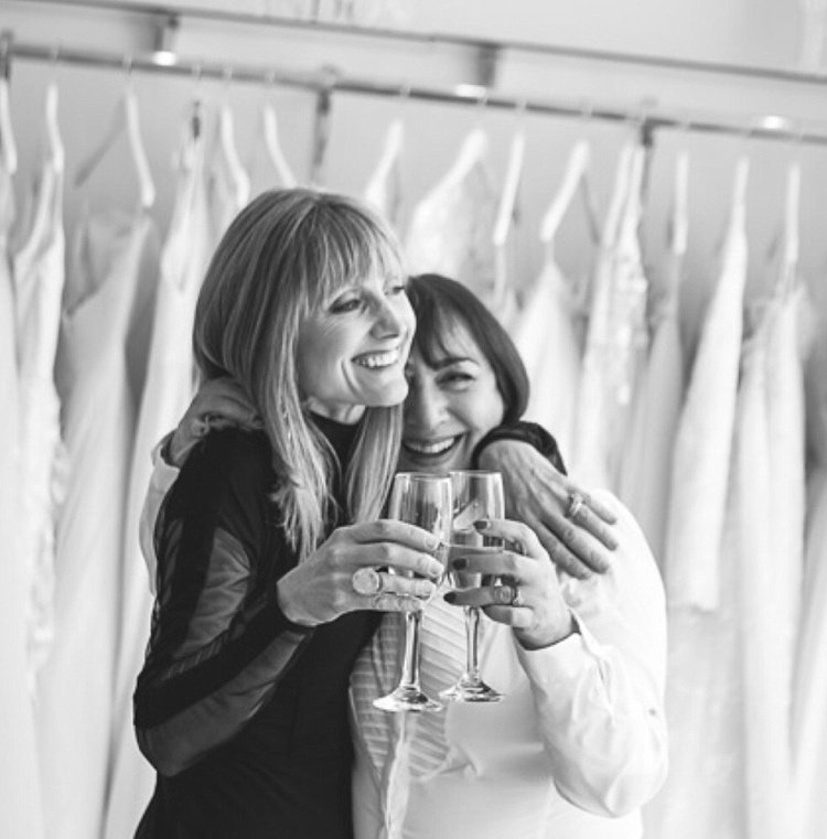 Maria and Jane, celebrating 29 years of Mirror Mirror! Image by Reportage Gallery