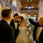 A Suzanne Neville Bride for a Super Luxe Destination Jewish Wedding at the Great Synagogue of Florence and Villa de Maiano, Florence, Italy