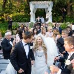 A Vera Wang Bride for a Magical Outdoor Jewish Wedding at The Vineyards in Simi Valley, California, USA