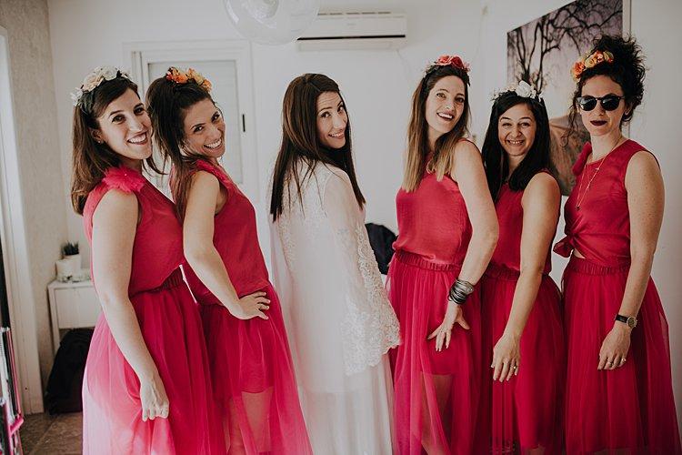 Jewish wedding best friends apartment in Purim, Tel Aviv, Israel_0008