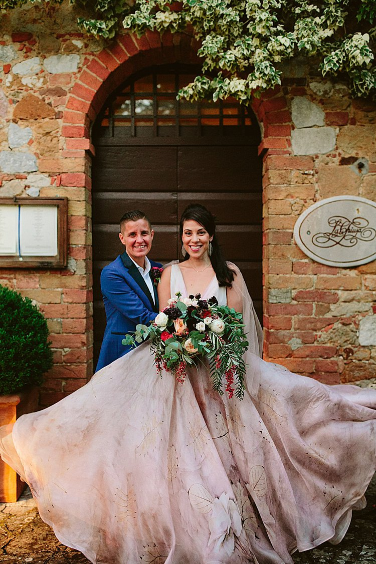 Destination Lesbian Jew-ish wedding La Chiusa, Montefollonico, Siena, Tuscany, Italy_0004