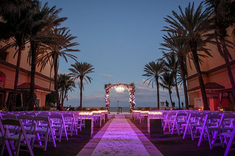 Jewish wedding Eau Palm Beach Florida USA