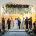 A Vera Wang Bride for a Romantic Destination Jewish Wedding at the Hilton in Tel Aviv, Israel