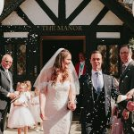 A Pronovias Bride for a Glam Garden Party Jewish-inspired Wedding at Laura Ashley The Manor in Elstree, Hertfordshire, UK