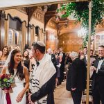 A Pronovias Bride for an Ultra-Emotional Winter Glam Jewish Wedding at Two Temple Place, London, UK
