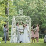 A Theia Bride for a Jewish Wedding at the Pleasantdale Chateau in West Orange, New Jersey, USA