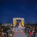 A Mira Zwillinger Bride for a Garden Oasis Jewish Wedding at the 1 Hotel, South Beach, Miami, Florida, USA