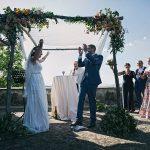 A Rita Vinieris Bride for a Multicultural Jew-ish Wedding at Villa Medicea di Lilliano, Florence, Tuscany, Italy