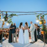 A Vineyard Festival Wedding Featuring Two Brides in Limor Rosen and Tamara, South of Tel Aviv, Israel