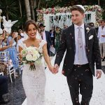 A Gemy Maalouf Bride for a Destination Jewish Wedding at Villa Tiberio, Marbella, Spain