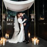 An Ines Di Santo Bride for a New York-Meets-London Jewish Wedding at the Gramercy Park Hotel, NYC, USA