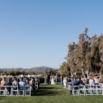 A David's Bridal Bride for a Jewish Wedding with a Mega-Meaningful Chuppah at Twin Oaks Golf Course in San Marcos, California, USA