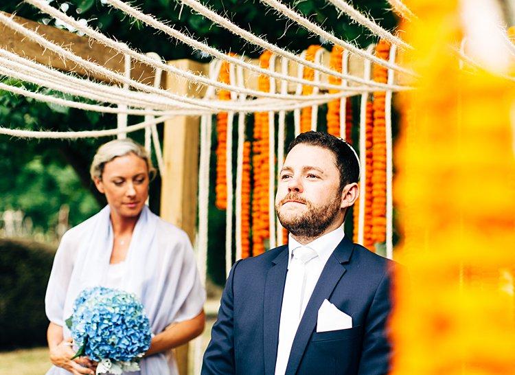 A Craig Braybrook Bride for an Australian-Spanish-Indian Jewish
