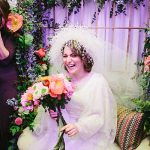A Samantha Sleeper Bride for an Enchanted Garden Winter Jewish Wedding at Olmaya in Jerusalem, Israel