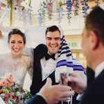 A Lyn Ashworth Bride for a Country-Meets-City Jewish Wedding at the Spanish and Portuguese Synagogue and the Savile Club in London, UK