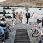 A Relaxing and Rustic Destination Jewish Wedding on a Budget at Porto Helidoni Villa, Crete, Greece