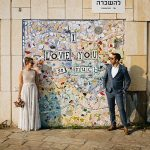 A Nitzan Krispil Bride for a Laid-Back Seaside Wedding at Beit Andromeda, Tel Aviv, Israel