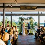 A BHLDN Bride for an Elegant Boho Jewish Wedding at District Winery, Washington, DC, USA