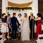 An Amanda Wakeley Bride for an Interfaith Irish-Jewish Wedding at Millhouse and Slane Castle, Slane, Ireland