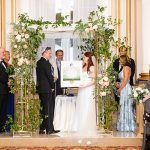 A Romona Keveza Bride for a Family-Focused Jewish Wedding at the Belvedere Hotel, Baltimore, Maryland, USA