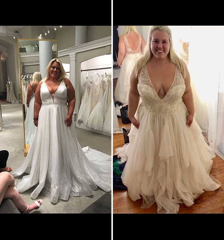 Juliette Matt Kleinfeld dress shopping plus size bride Jenny Yoo bridesmaids_0003