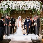 A Monique Lhuillier Bride for a Modern Classic Jewish Wedding at Cipriani 25 Broadway, NYC, New York, USA