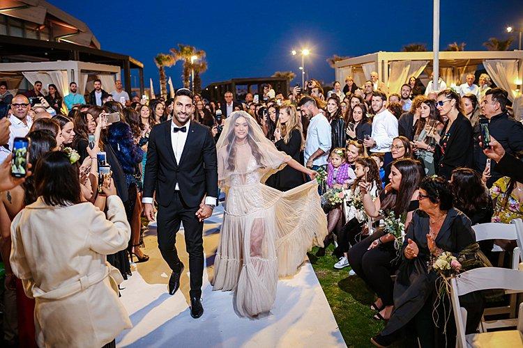 Jewish Wedding Cochav Hayam in Caesarea Israel_0037