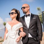 A Shay Peretz Bride for a Paris-Meets-Tel Aviv Jewish Wedding at Ray, Tel Aviv, Israel