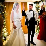 A Monique Lhuillier Bride for a Modern Rustic Jewish Wedding at The Grove Hotel, Chandler's Cross, Hertfordshire, UK
