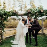 A Naeem Khan Bride for a Cozy, Outdoorsy Jewish Wedding at The Hideout, Kirkwood, California, USA