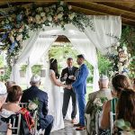 A Berta Bride for a Personal Jewish Wedding at Borgo Corsignano, Poppi, Arezzo, Tuscany, Italy
