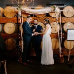 A BHLDN Bride for an Intimate Brunch Wedding at Madera Kitchen Los Angeles, CA, USA