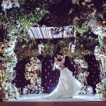A Vera Wang Bride for a Magical Forest Jewish Wedding in the City at the Hilton Midtown Hotel, New York City, New York