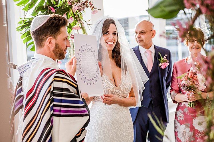 Jewish wedding The River Rooms at The Mermaid, London, UK_0057