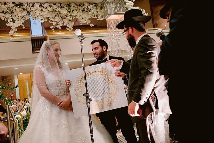 Jewish wedding Beth Israel Beth Aaron Synagogue, Montreal, Quebec, Canada_0046