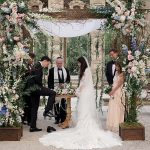 A Vera Wang Bride for a Breathtaking Vintage-Inspired Jewish Wedding at Vizcaya Museum and Gardens in Miami, FL USA