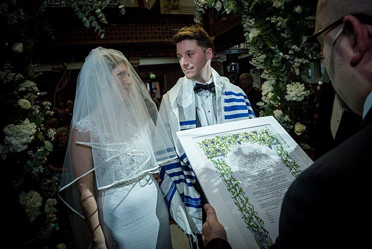 Jewish wedding West London Synagogue and Sheraton Park Lane Hotel, London, UK_0056