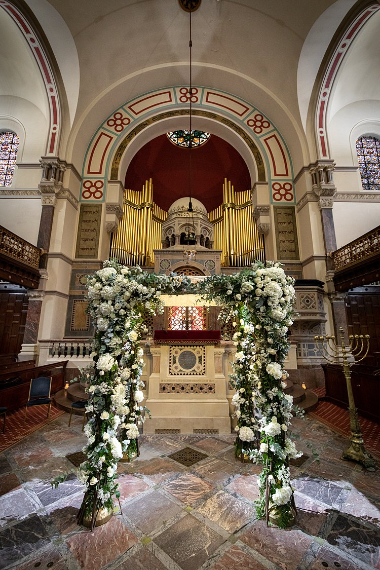 Jewish wedding West London Synagogue and Sheraton Park Lane Hotel, London, UK_0028