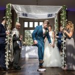 An Enzoani Bride for an Interfaith Jewish Wedding with Tons of Creative Touches at Offley Place, Great Offley, Hitchin, Hertfordshire UK